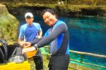 Doc & I-- Enchanted River 2010