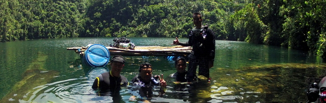 Filipino Cave Divers