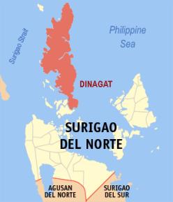 Dinagat and Surigao